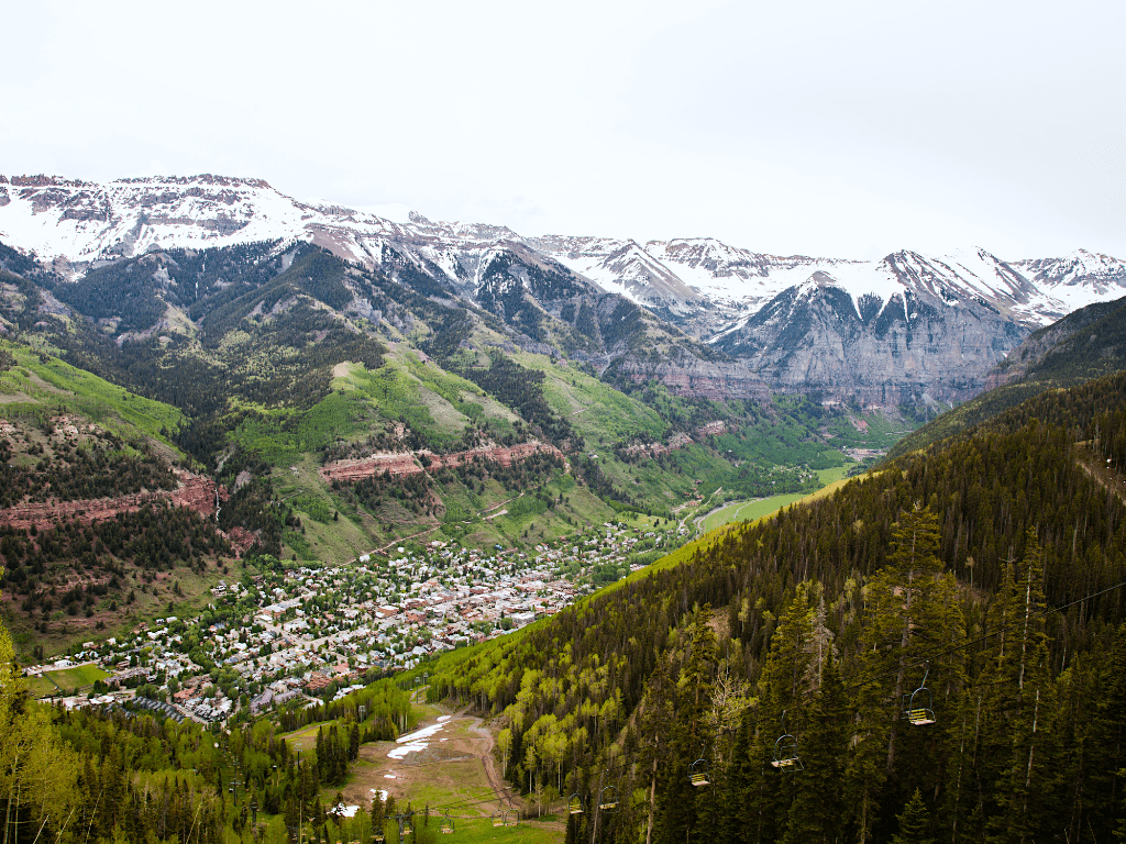 Views of Telluride From the Gondola