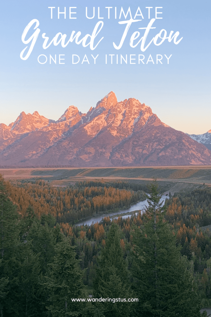 One Day In Grand Tetons Pin