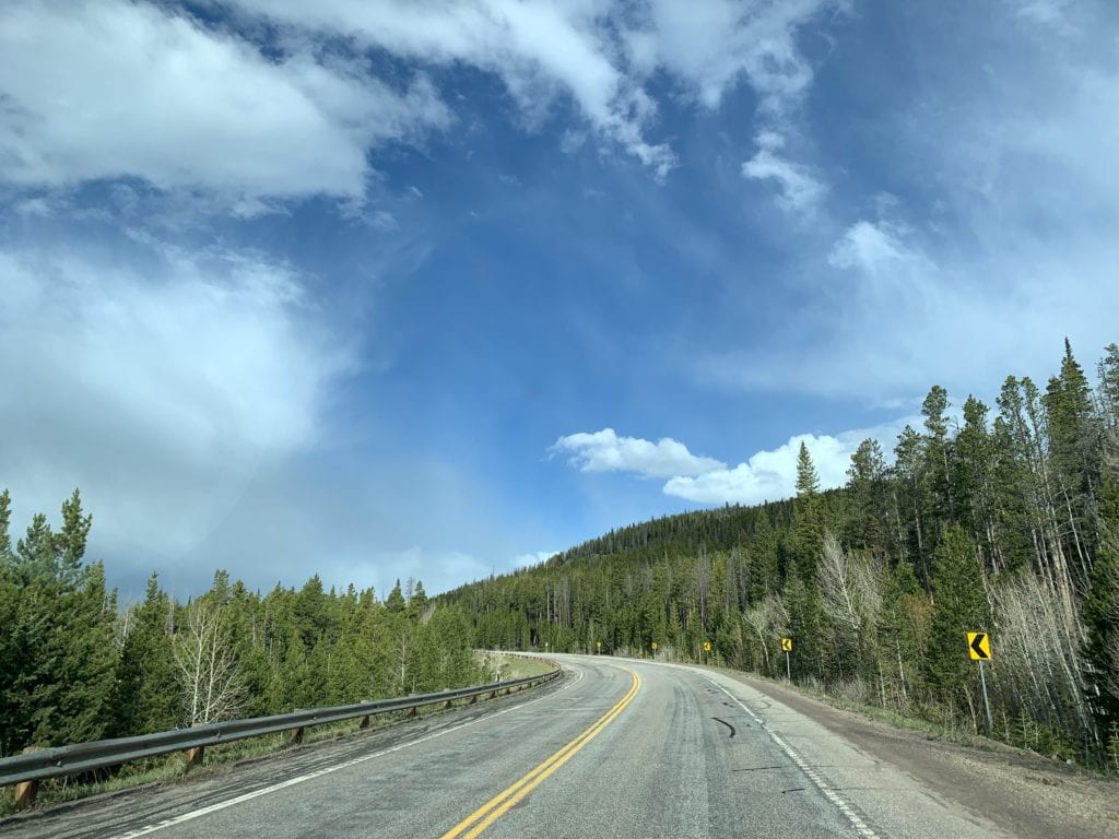 Views from the Snowy Range Scenic Byway