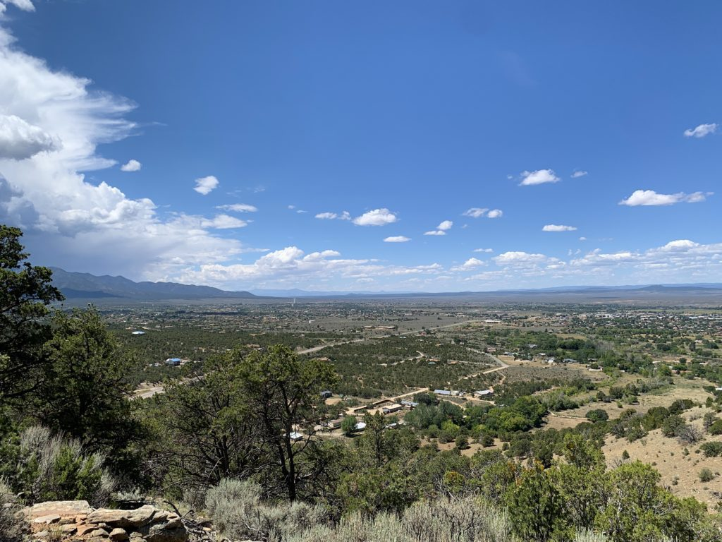 Views of Taos from the Devisadero Loop Trail